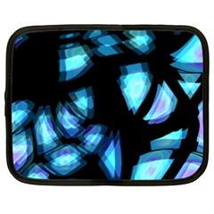 Blue light Netbook Case (XXL)