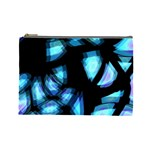 Blue light Cosmetic Bag (Large)  Front