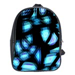 Blue light School Bags(Large)  Front