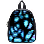 Blue light School Bags (Small)  Front