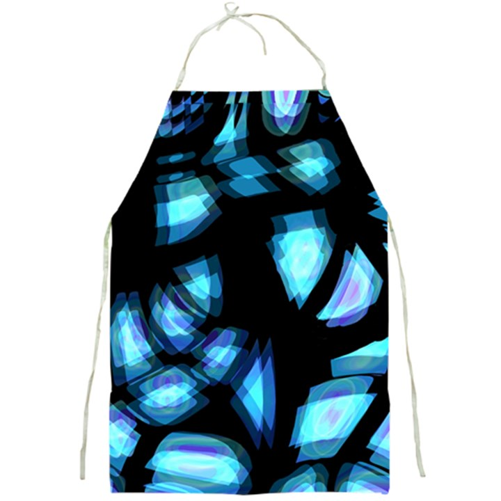 Blue light Full Print Aprons