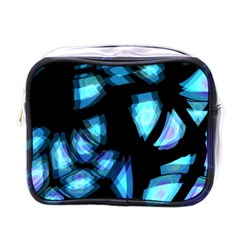 Blue light Mini Toiletries Bags