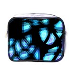 Blue light Mini Toiletries Bags Front