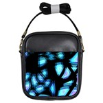 Blue light Girls Sling Bags Front