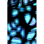 Blue light 5.5  x 8.5  Notebooks Back Cover