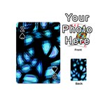 Blue light Playing Cards 54 (Mini)  Front - Spade2