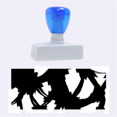 Blue Light Rubber Stamps (large)