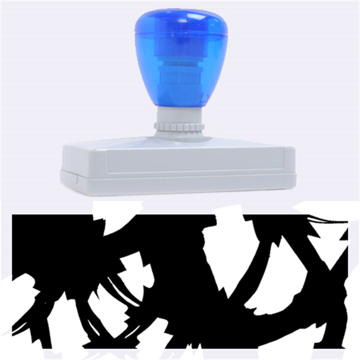 Blue light Rubber Address Stamps (XL)