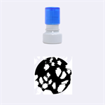 Blue light Rubber Round Stamps (Small) 1.12 x1.12  Stamp