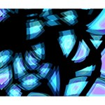 Blue light Deluxe Canvas 14  x 11  14  x 11  x 1.5  Stretched Canvas