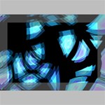 Blue light Deluxe Canvas 18  x 12   18  x 12  x 1.5  Stretched Canvas