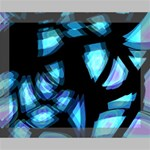 Blue light Deluxe Canvas 20  x 16   20  x 16  x 1.5  Stretched Canvas