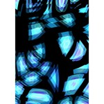 Blue light LOVE Bottom 3D Greeting Card (7x5) Inside