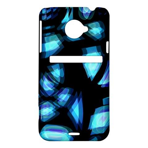 Blue light HTC Evo 4G LTE Hardshell Case