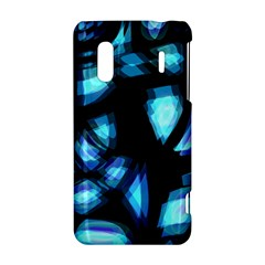 Blue light HTC Evo Design 4G/ Hero S Hardshell Case
