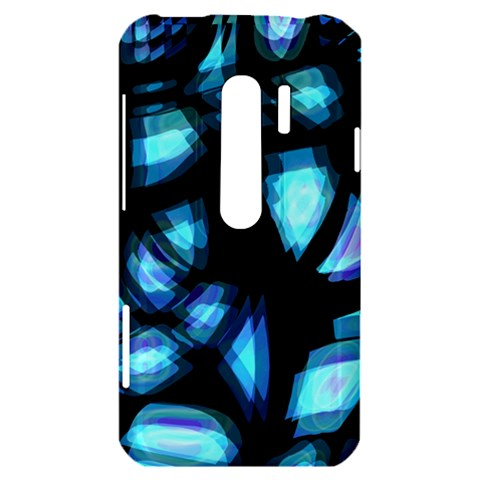 Blue light HTC Evo 3D Hardshell Case