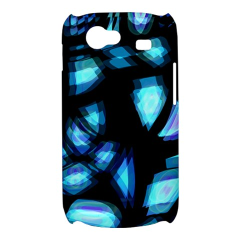 Blue light Samsung Galaxy Nexus S i9020 Hardshell Case