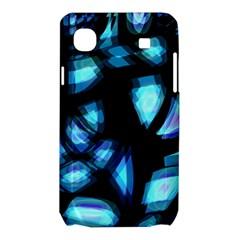 Blue light Samsung Galaxy SL i9003 Hardshell Case