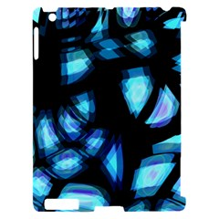Blue light Apple iPad 2 Hardshell Case (Compatible with Smart Cover)