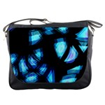 Blue light Messenger Bags Front