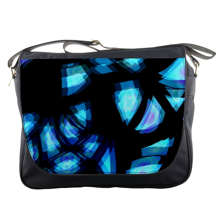 Blue light Messenger Bags