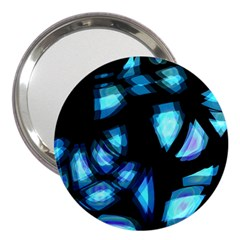 Blue light 3  Handbag Mirrors
