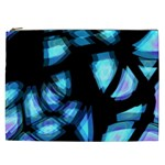 Blue light Cosmetic Bag (XXL)  Front