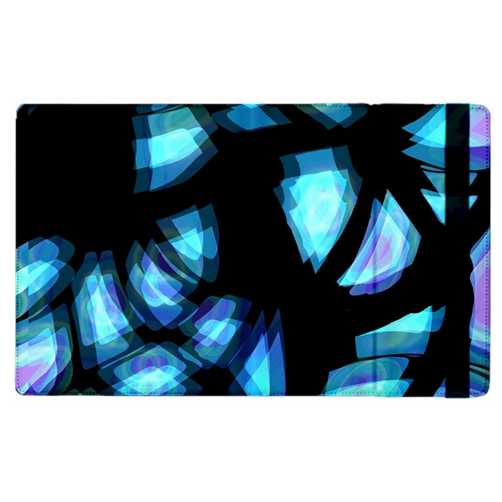 Blue light Apple iPad 2 Flip Case