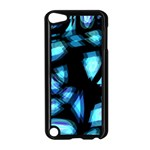 Blue light Apple iPod Touch 5 Case (Black) Front