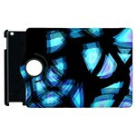 Blue light Apple iPad 2 Flip 360 Case Front