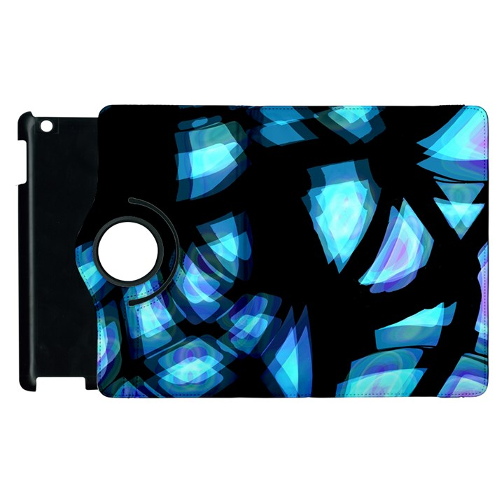 Blue light Apple iPad 3/4 Flip 360 Case