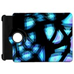 Blue light Kindle Fire HD Flip 360 Case Front