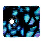 Blue light Samsung Galaxy S  III Flip 360 Case Front