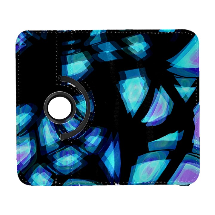 Blue light Samsung Galaxy S  III Flip 360 Case