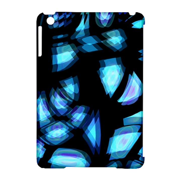 Blue light Apple iPad Mini Hardshell Case (Compatible with Smart Cover)