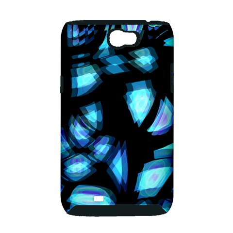 Blue light Samsung Galaxy Note 2 Hardshell Case (PC+Silicone)