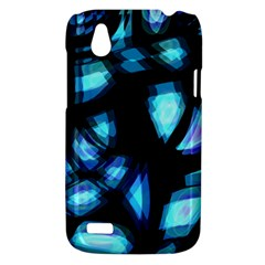 Blue light HTC Desire V (T328W) Hardshell Case