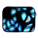 Blue light Apple iPad 2/3/4 Zipper Cases Front