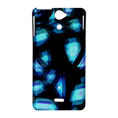 Blue light Sony Xperia V