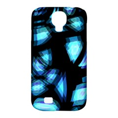 Blue light Samsung Galaxy S4 Classic Hardshell Case (PC+Silicone)