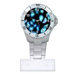 Blue light Plastic Nurses Watch Front