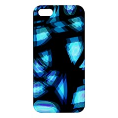 Blue light iPhone 5S/ SE Premium Hardshell Case