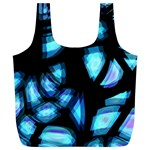 Blue light Full Print Recycle Bags (L)  Back