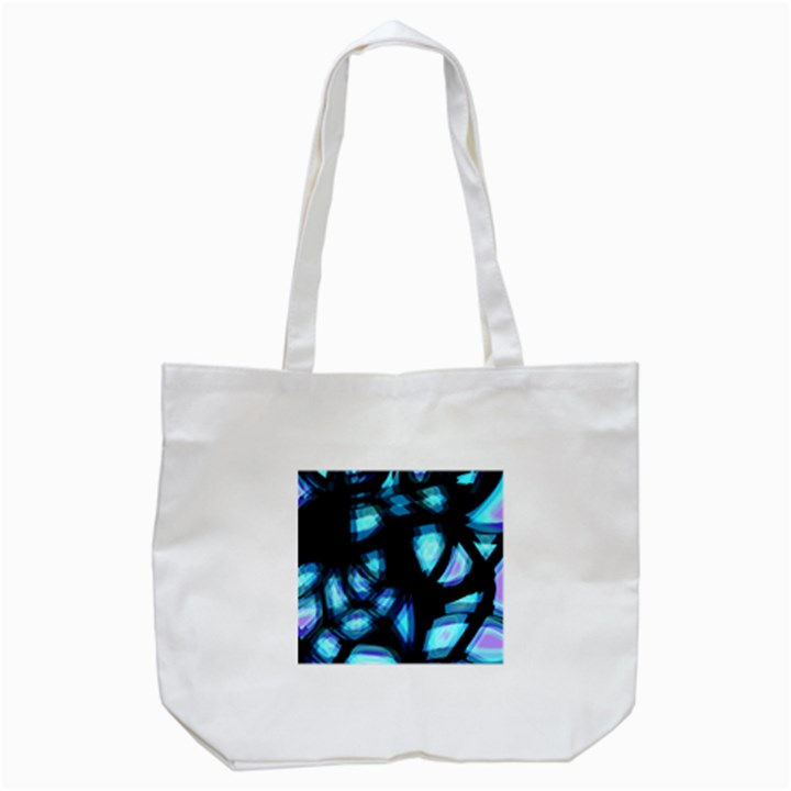 Blue light Tote Bag (White)