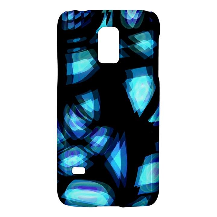 Blue light Galaxy S5 Mini