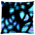 Blue light Standard Flano Cushion Case (One Side) Front
