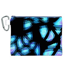Blue light Canvas Cosmetic Bag (XL)