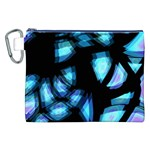 Blue light Canvas Cosmetic Bag (XXL) Front