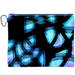 Blue light Canvas Cosmetic Bag (XXXL)