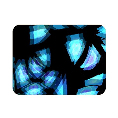 Blue light Double Sided Flano Blanket (Mini)